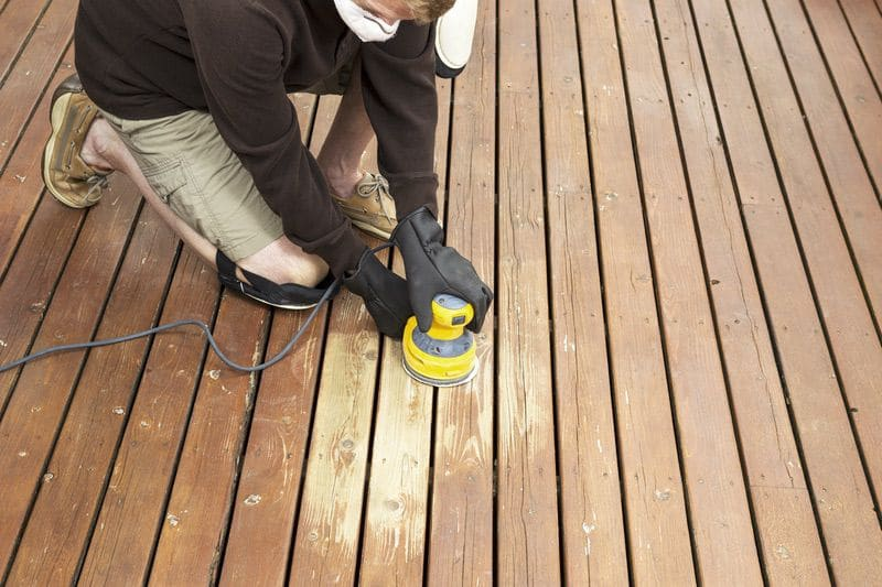 wooden deck maintenance