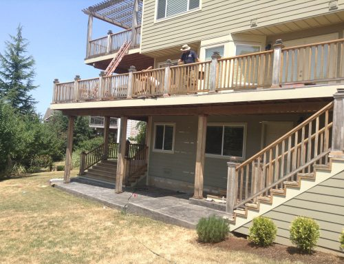 Deck Refinishing Portland