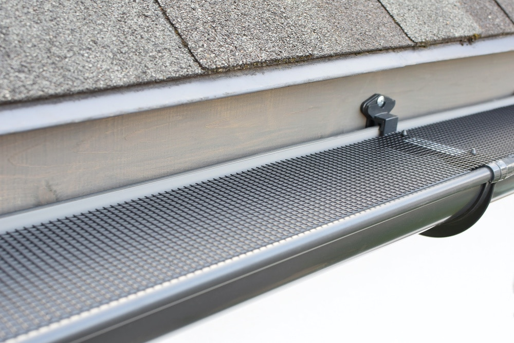 gutter screen installation