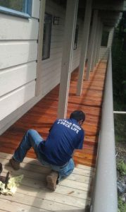 Man-Staining-Deck