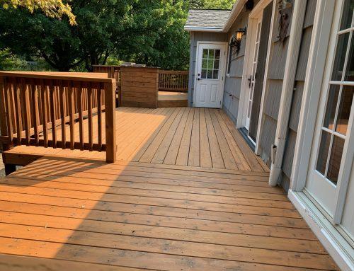 Portland Raleigh Hills Deck Sanding & Staining
